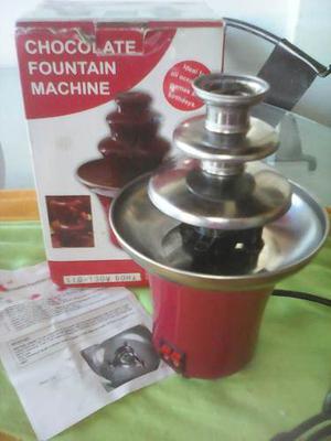 Fuente De Chocolate Electrica De 2 Niveles 60 Hz