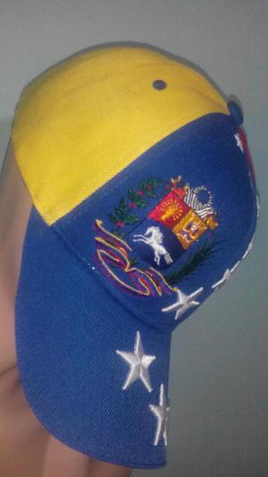 GORRAS ORIGINALES TRICOLOR VENEZUELA