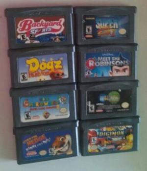 Juegos De Game Boy Avance Y Nintendo 64