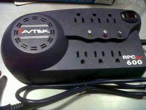Regulador De Voltaje Rpc Plus t 120vac Avtek F