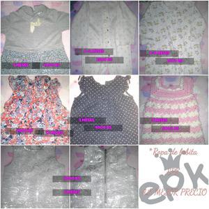 Ropa de bebita y variedades Crochet