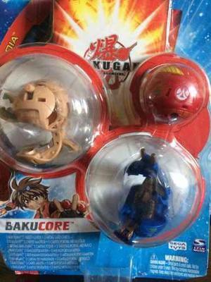 Bakugan Bakucore Combo De 3 Esfera (blister) Con Sus Cartas