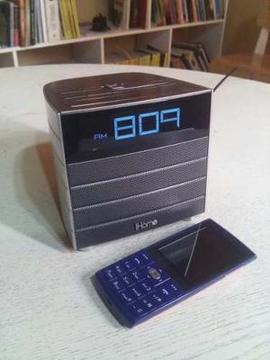 Corneta Bluetooth Radio Reloj Despertador Nfc Marca Ihome