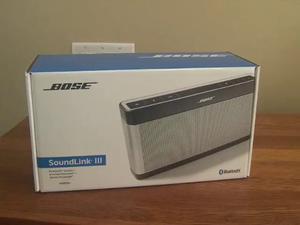 Corneta Portatil Bose Soundlink Bluetooth Speaker Iii