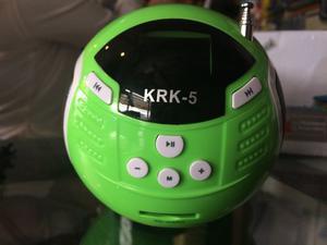 Corneta Recargable Krk Usb Radio Fm