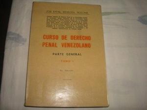 Curso De Derecho Penal Venezolano De Jose Rafael Mendoza