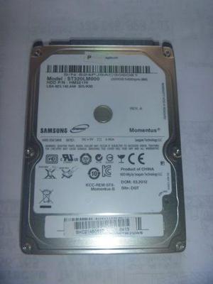 Disco duro samsung seagate 320gb sata para laptop