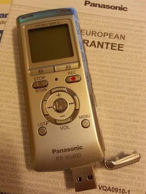 Grabadora De Periodista Digital Estéreo Panasonic