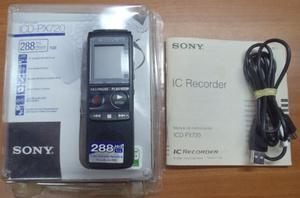 Grabadora Periodista Sony Px 720 (dañada, Para Reparar)
