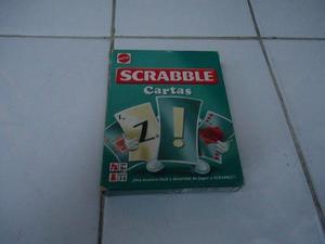 Juego De Cartas Scrabble