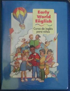 Remato Curso Early World English De Ingles Para Niños.