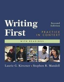 Writing First Practice In Context Curso De Inglés Práctico