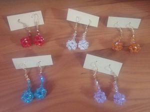 Zarcillos De Cristales De Swarovski