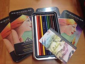Creyones Prismacolor Premier De 12 Colores