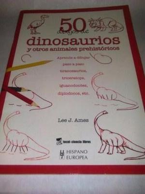 Libro 50 Dibujos De Dinosaurios