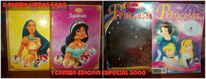 Libros, Revistas Y Afiches De Las Princesas
