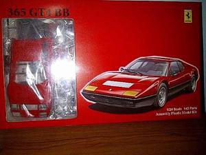 Modelo Para Armar Ferrari 365 Gt4 Bb, Fujimi Escala 1/24