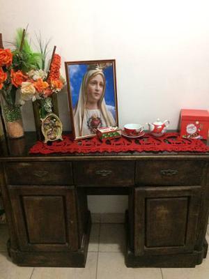 Mueble De Madera Antiguo