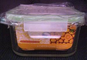 Pote Envase Conservador De Alimentos Vidrio Korper 7207 Xavi