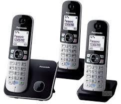 Teléfono Inalambrico Panasonic + 3 Unidades + New