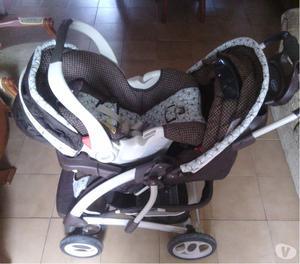 Vendo Coche con Porta Bebe Unisex Marca Graco