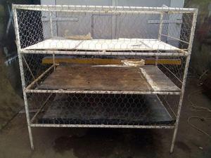 jaulas para animales pollos y gallinas