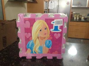 Alfombra Foami Barbie