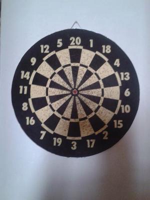 Juego De Dardos Reversible Con 6 Dardos