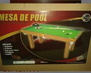 Mesa De Pool Grande Junior