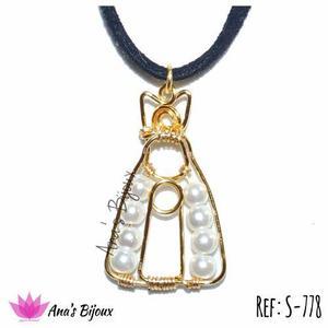 Collar Virgen Del Valle Perlas