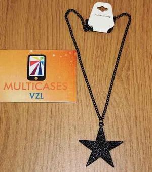 Collares De Estrellas Joyas Bisutería De Moda En Oferta Mv!