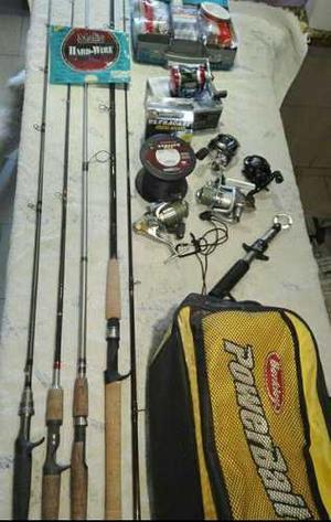 Equipo De Pesca Completo
