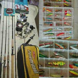 Equipo Pesca Deportiva Completo