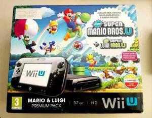 Nintendo Wii U De 32 Gb Mario & Luigi Deluxe Set + 2 Juegos