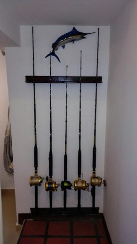 Porta Cañas De Pesca Para Reel De Troleo