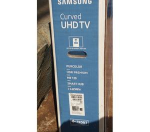 TV. SAMSUNG CURVED 49""