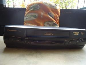 Vhs Panasonic 4 Cabezales