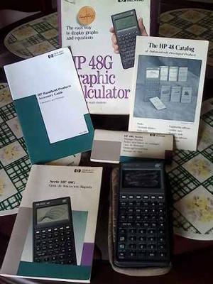 Calculadora Hp 48g 256k Ram Para Repuesto Con Su Caja Y Guia