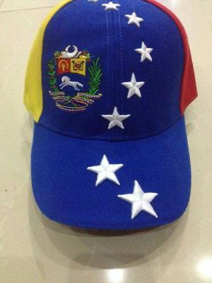 Gorras De Venezuela Tricolor