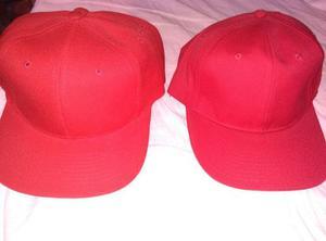 Gorras Rojas Cerradas