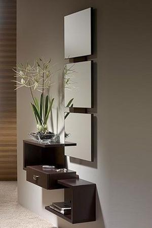 Mueble De Entrada O Recibidor, Para Pasillo De Casa Apto Ofc