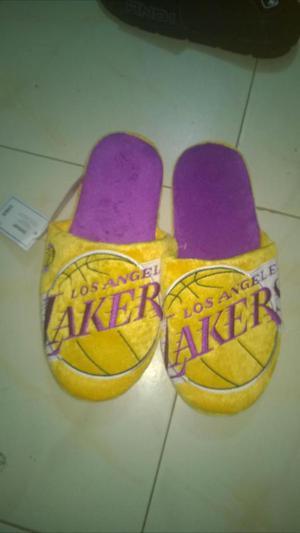 Pantuflas originales NBA Los angeles Lakers