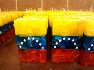 Velas De Bandera De Venezuela