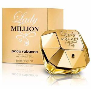 Perfume Lady Million 80 Ml Original