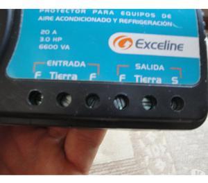 Protector Para Ac Alta Carga Exceline GSM-R220B 220V