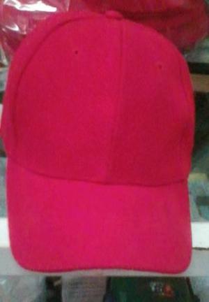 Remato lote de gorras algodon, para bordar, varios colores