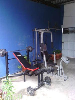 Vendo Equipos Para Gym (Multifuerza)