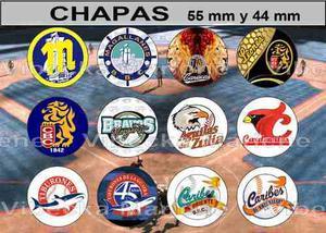 Chapas Beisbol Caracas, Magallanes, Tiburones, Caribes