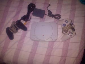 Playstation 1 (usado) Con Todos Sus Accesorios.