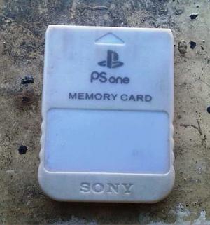Vendo O Cambio Memory Card Psone, Sony
